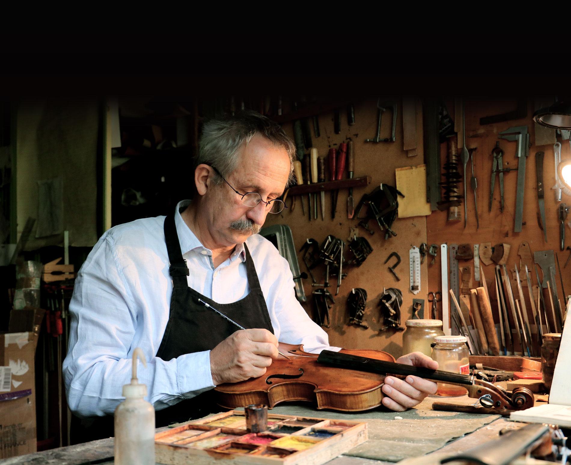 Jean-Christophe Graff - Maître luthier à Strasbourg